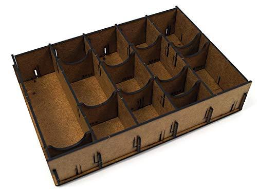 docsmagic.de Organizer Insert for Carcassonne Box - Einsatz