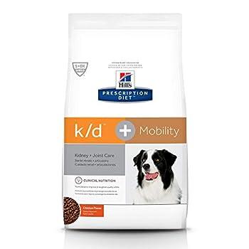Hill s Prescription Diet k/d Kidney Care + Mobility Chicken Flavor Dry Dog Food Veterinary Diet 18.7lb bag