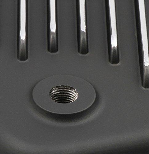 Mr. Gasket 9796BMRG Automatic Transmission Oil Pan Gm Th-400, Black Aluminum