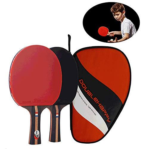 Yajun Raqueta De Tenis De Mesa Bat 7 Capas Blade Práctico Kit Ligero Diseñado Ping Pong Paddle Trainer Actividad Familiar Escuela Deportes Club