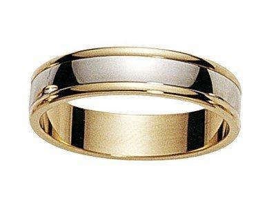 www.diamants-perles.com Unisex Ring VIDLI, Gold 375/1000, 59 (18.8), FBH2014029-JB-59
