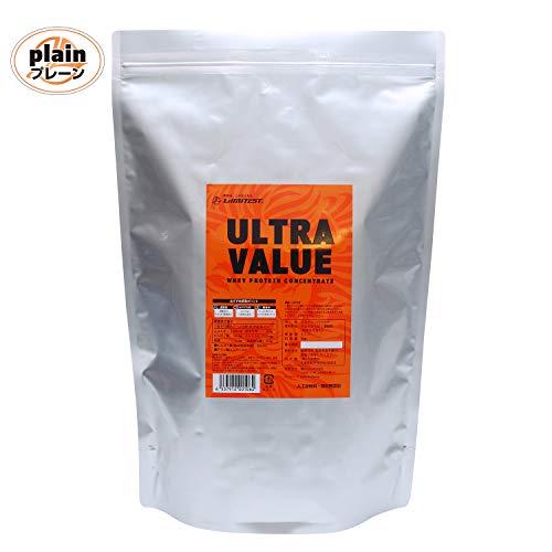 リミテスト 無添加 ホエイプロテイン ULTRA VALUE ウルトラバリュー 3kg 約86食分 プレーン LIMITEST 国内製造
