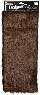DARICE 2500-50 Dark Brown Craft Fur, 12 x 15 inches