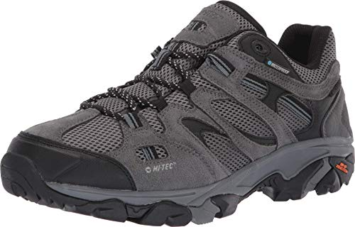 HI-TEC Ravus Vent Low WP Hiking Boots - Men's, Charcoal/Cool Grey/Dark Slate, Medium, 53117-M115