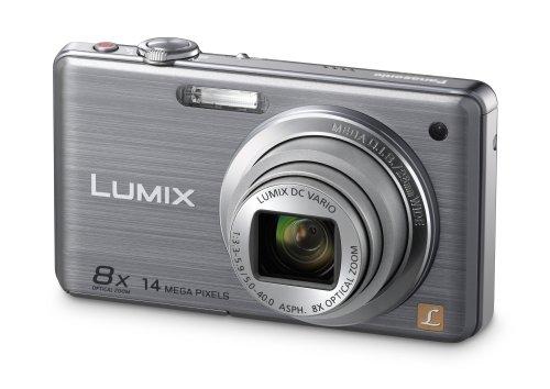 Panasonic LUMIX DMC-FS33EG-S - Cámara Digital (14 megapíxeles, Zoom óptico 8X Pantalla de 7,62cm, estabilizador de Imagen) Color Plata