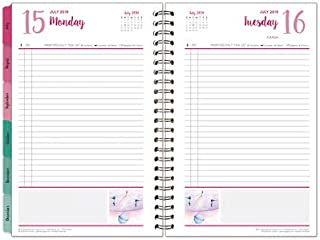 FranklinCovey Classic Her Point of View One-Page-Per-Day 6 Month Wire-Bound Planner - Jul 2019 - Dec 2019