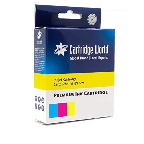 Cartridge World - Cartucho de Tinta Compatible con HP 302XL (F6U67AE)