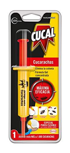 Cucal Insecticida Jeringa contra Cucarachas - 1 unidad