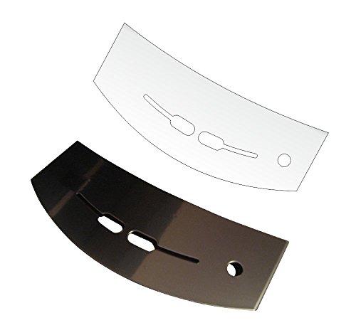 3 x Schutzfolie für Jura J5 & J7 Impressa Tassenablage, Abtropfblech, Tassenplattform