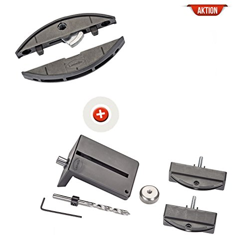 Lamello Clamex P-14 Starterkit - Verbindungsbeschlag - 80 Paar - inkl. Bohrlehre - 145334S für Zeta P2
