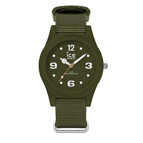 Ice-Watch - ICE slim nature Mountain green - Men's (Unisex) wristwatch with nylon strap - 016445 (Medium)