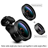 SJSXTLLL Mobile Phone Universal Lens Wide Angle Macro Combo Kit External Camera SLR Lens Camera Telephoto Lens
