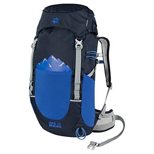 Jack Wolfskin Kinder Pioneer 22 Pack Rucksack, Night Blue, ONE Size