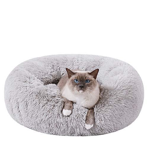 HACHIKITTY Calming Cat Bed Machine …