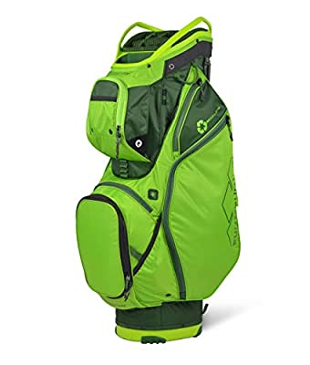 Sun Mountain 2021 EcoLite Golf Cart Bag (Rush-Green-Green)