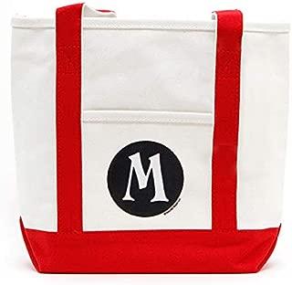 Monogram Canvas Tote Bag, Great Shoulder Bag Gift for Moms, Teachers, and Nurses