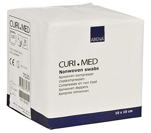Curi-Med - unsterile Mullkompressen - weiß - 10 x 10 cm - 100 Stück