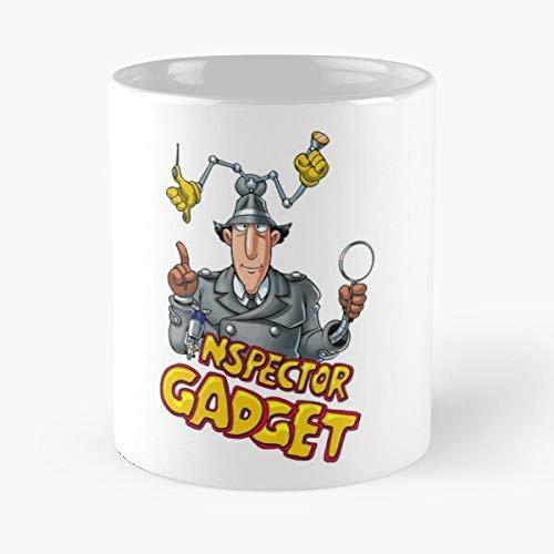 France Inspector Retro Tv Series Cartoons Gadget Fanboy 80S Best 11 Ounce Ceramic Coffee Mug ! Customize