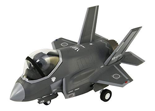 ピットロード キューピットシリーズ 航空自衛隊 戦闘機 F-35A パイロットフィギュア1体付き NONスケール プラスチック製はめこみスナップモデルキット LDP02