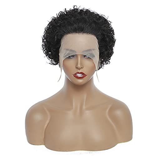 Short curly hair wigs _image3