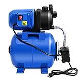 COSTWAY Gartenpumpe Wasserpumpe Wasserversorgung Bewässerungspumpe Pumpe 1200W 5 bar