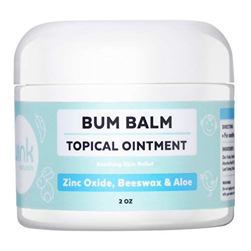 Wink Naturals Baby Cream for Diaper Rash, Irritated Skin and Insect Bites, Natural Moisturizing Cream with No Toxins, Dyes, Fragrances, Parabens, Petroleum Or BHA (2 Oz)