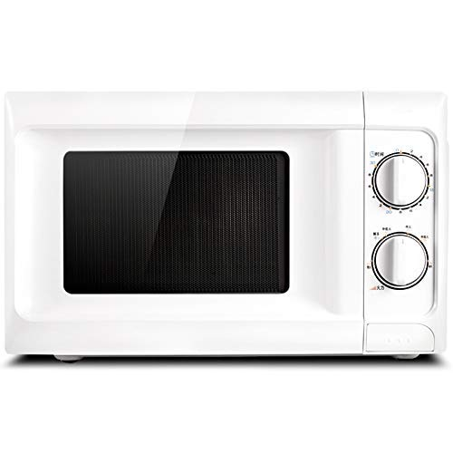 PLEASUR Horno de microondas mecánico para el hogar de 20 l, Calentador de Alimentos de 220 V, vaporizador de Huevos para Hornear Patatas, descongelación de Carne, 6 Engranajes