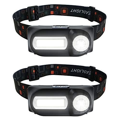 Amazon - 2 Pack of LED Headlamp Flashlights $5.44