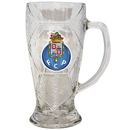 Offizielles FC Porto (Primeira Liga) Fußball-Souvenir Bierglas (600 ml) in Geschenkbox