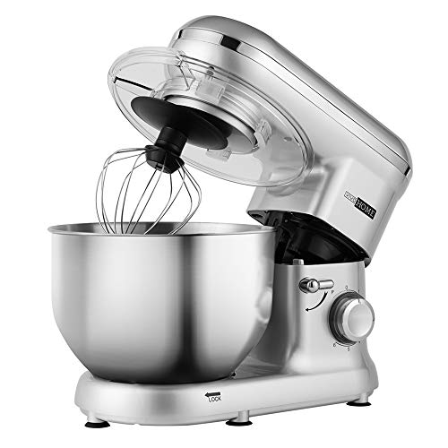 stand mixer silver - 8