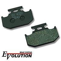 エボリューション(EVOLUTION)セミメタルブレーキパッド EV-432D KLX250SR KLX250R KX250