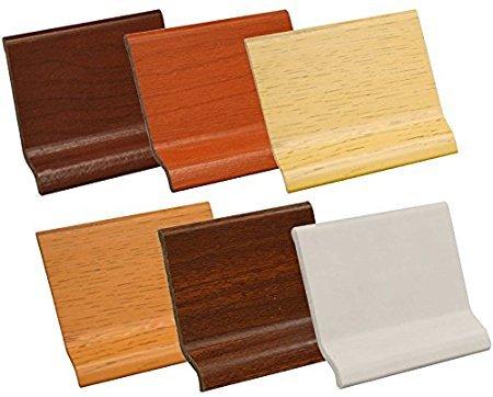 BATTISCOPA IN PVC ESPANSO SAGOMATO Colore (Noce 2,00 mt.)