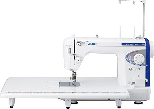 Juki TL-2200QVP - Mini máquina de coser de alto rendimiento con cortador de alambre, metal, color blanco, 45,2 x 21,9 x 35 cm