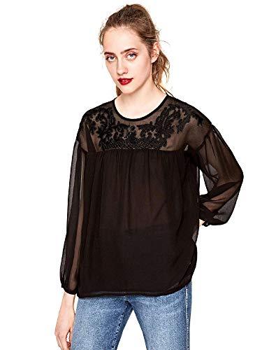 Pepe Jeans Londen, blouse opium black
