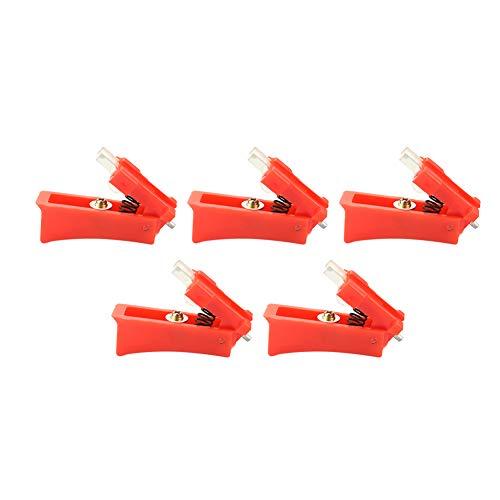 Interruptor de gatillo de antorcha de soldadura estable y duradero, interruptor de gatillo de antorcha de soldadura 15Ak confiable de alta sensibilidad portátil, antorcha de soldadura con