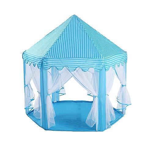 Viñedo Durable Play Tent Princess Castle Pink - Portátil Kids Play Tent - Hexagon Mesh Game Room Mosquito Net Baby House - Carpa para niños de Uso en Interiores y Exteriores (Color : #2)