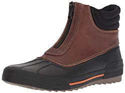 powerful Clarks Women's Gilby Cherry Snowshoes, Dark Brown Leather, 6.5 M US