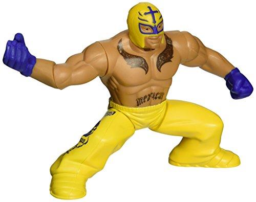 WWE – Power Slammers – Rey Mysterio – Figurine Action Motorisée 12 cm