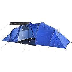 2 rooms, 1 door, mosquito nets and separate groundsheet