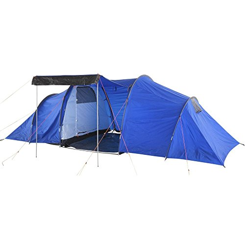 Pro Action 6 Man 2 Room Tent