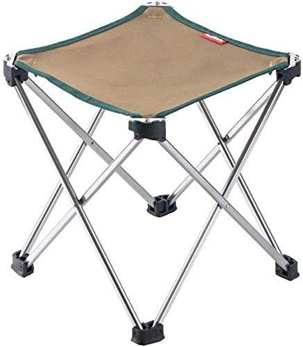 InicioGarden Simp Furniture Ultra-Light Portab Aluminio Taburete plegable □ Taburete plegable al...