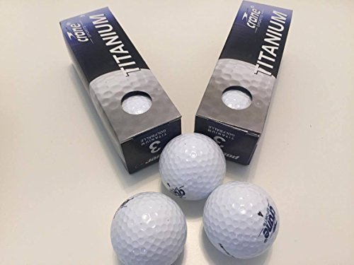 3 Titan angereicherte Distance Golfbälle mit hoher Flugkurve Golf Ball
