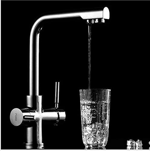 Grifo de la cocina 360 Girar el grifo de la cocina del mezclador del fregadero de agua de ósmosis inversa