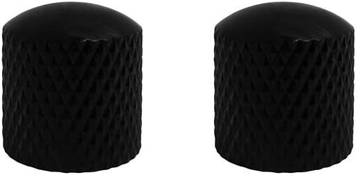 Safety and Manufacturer regenerated product trust IKN Bass Guitar Knobs Black Electric Tone Volume Guita for
