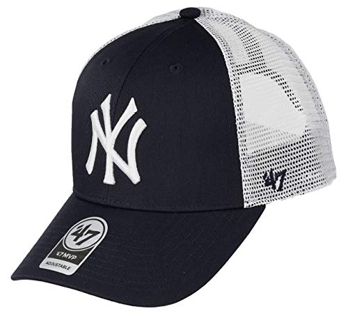 47 Brand Casquette MLB New York Yankees Branson MVP Taille Unique Navy_NV
