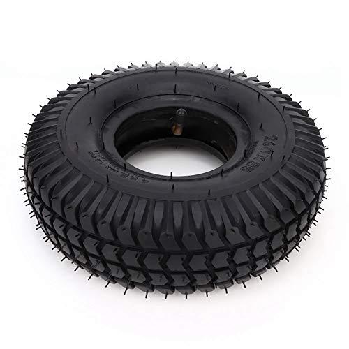 Neumático para silla de ruedas, 3.00-4 260x85 Neumático y rueda Resistente al desgaste del neumático Tubo interior para Scooter Silla de ruedas