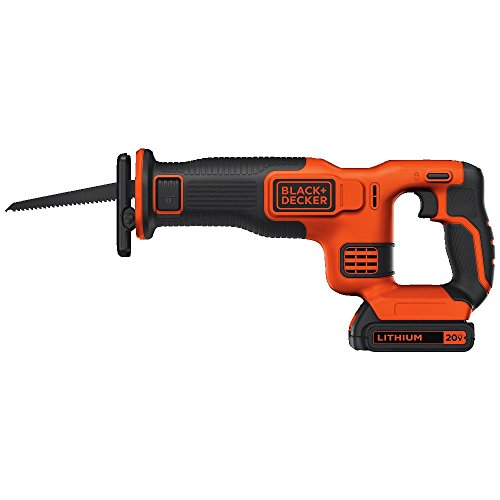 BLACKDECKER BDCR20C 20V MAX Reciprocating Saw with Battery and Charger