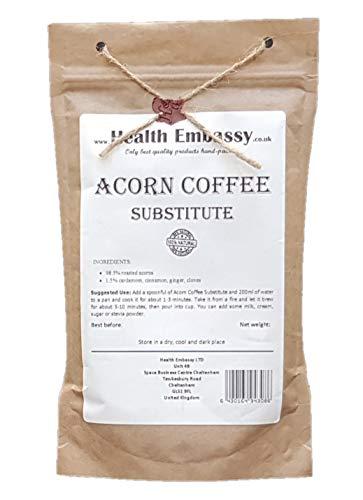 Health Embassy Eichennuss Kaffee Ersatz / Acorn Coffee Substitute, 100g
