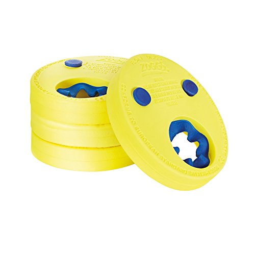 Zoggs Kinder Float Discs Schwimmflügel, Yellow/Blue, One Size