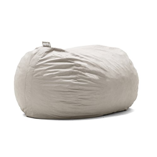 Big Joe Lenox Fuf Foam Filled Bean Bag, Extra Large, Oat